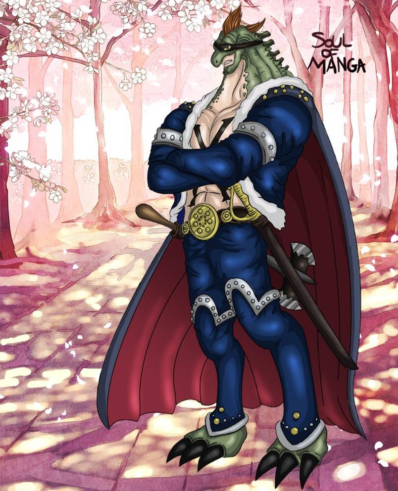 X Drake Hybrid Form One Piece 929 by S0UlofMANGA on DeviantArt