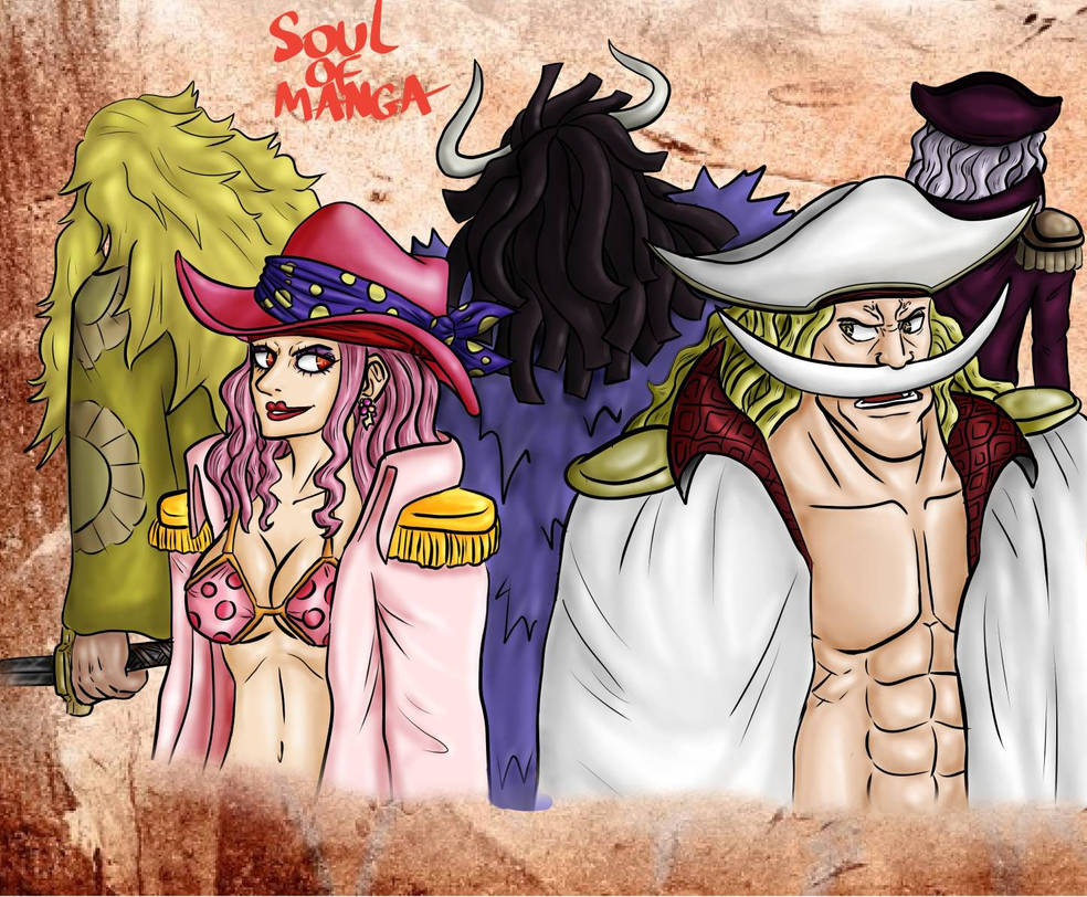 Ex Rocks Pirates One Piece 962 By S0ulofmanga On Deviantart