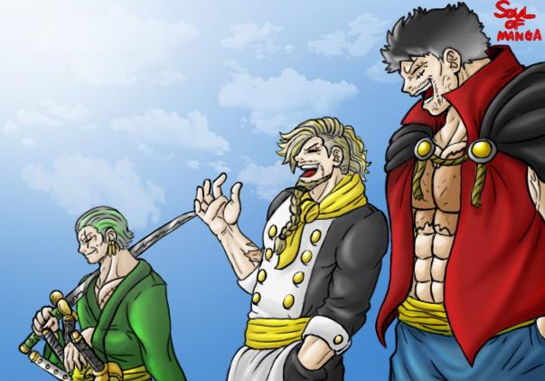 One Piece: Băng Mũ Rơm khi già đi trông sẽ như thế nào, câu trả lời tham khảo đã có rồi đây - Ảnh 8.