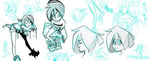 Ciix, Robot's Girl - Doodles