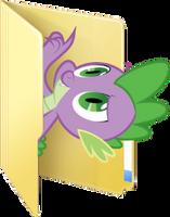 Custom Spike folder icon by rileystrickland
