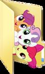 Cutie Mark Crusaders folder icon