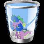 Spike Recycle Bin Icon