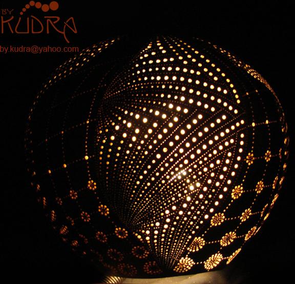 Gourd Lamp zentangle gourd lampbykudra on deviantart