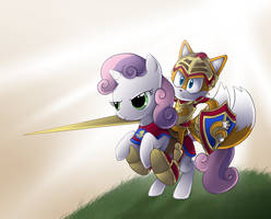 sweetie belle and tails
