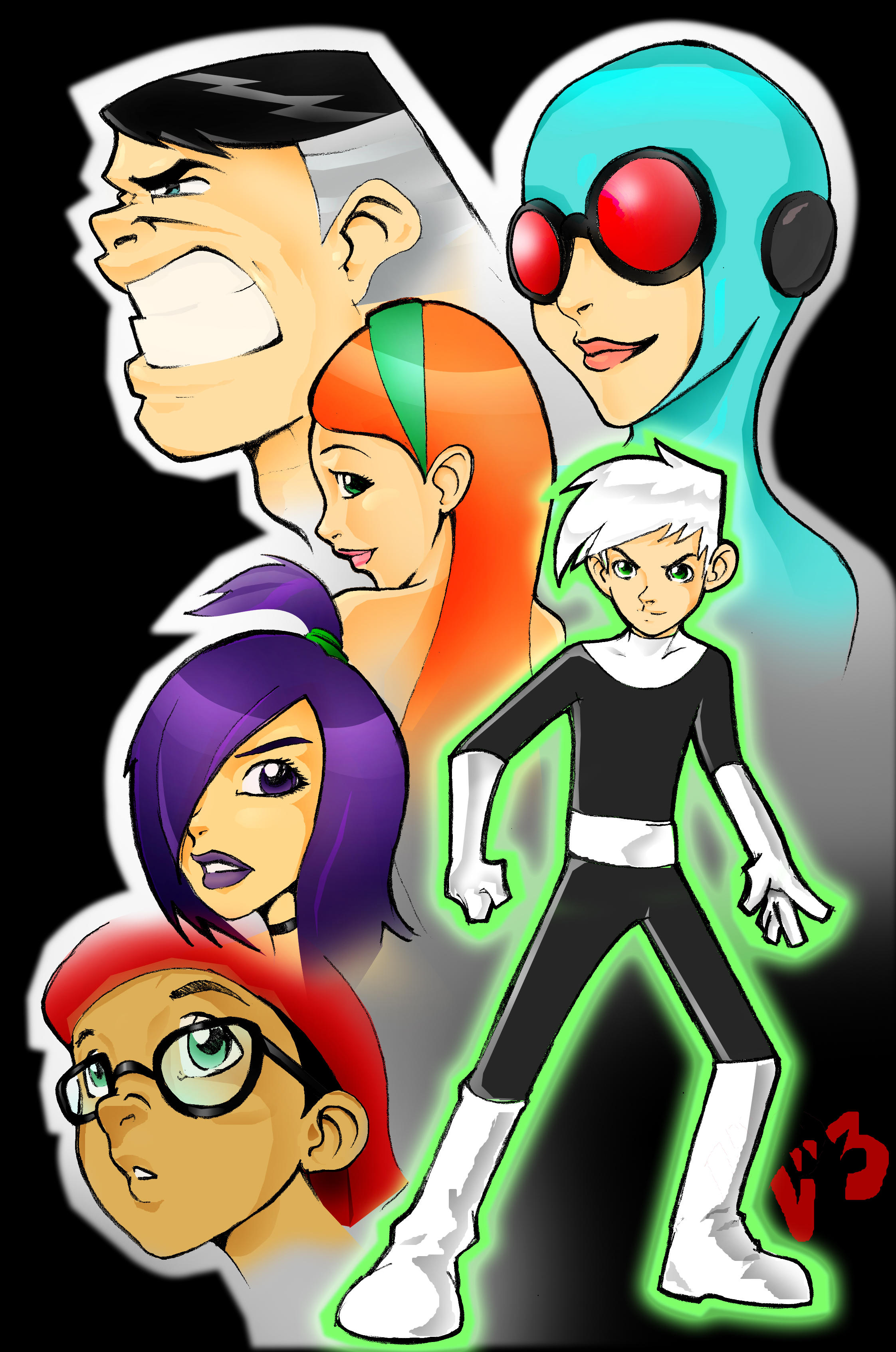 Danny Phantom By Jack