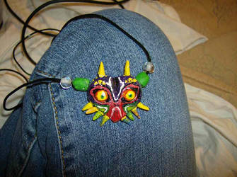 majora's mask necklace by lucypevensie85
