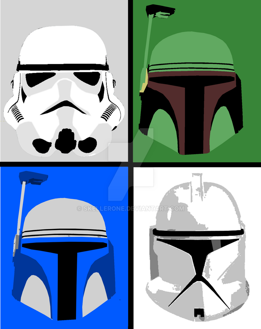 Star Wars Pop Art By Skellerone On Deviantart