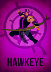 Hawkeye Minimalism by skellerone