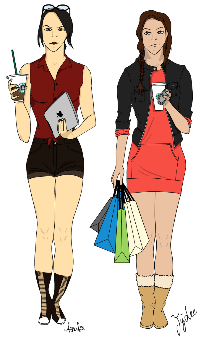 modern avatar part ii azula and ty lee by findichsehrgut