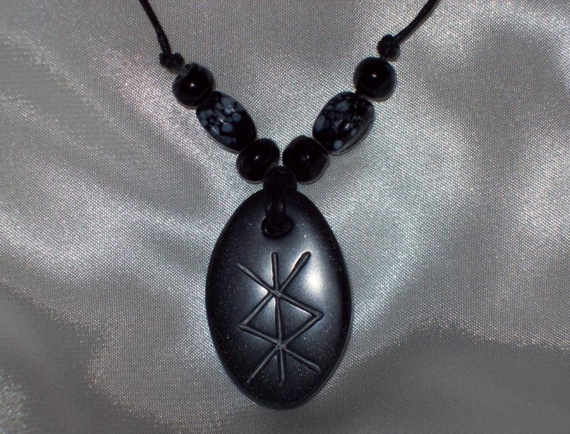 Rune Pendant - Dispelling by Eldessia