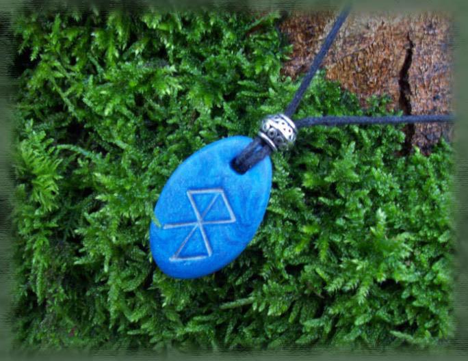 Rune Pendant - Serenity by Eldessia