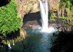 Rainbow Falls Hilo Hawaii by ZenAkita