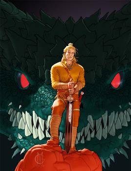 Dragonero #1 cover, first version