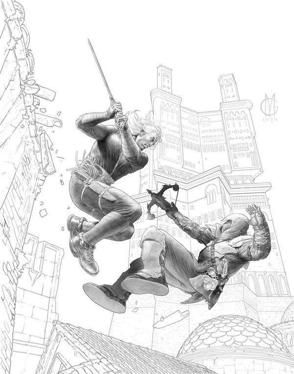 Cover 15 wip by GiuseppeMatteoni