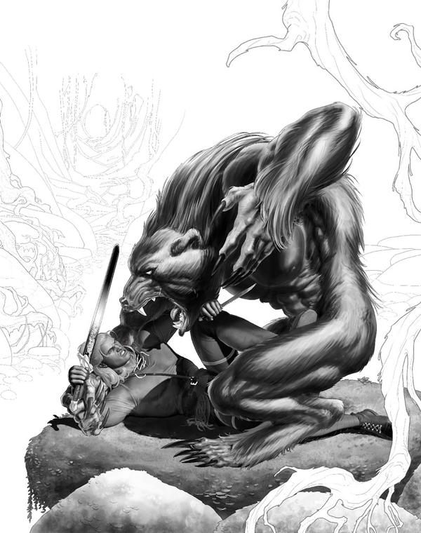 Dragonero #23 W.I.P. ( by GiuseppeMatteoni