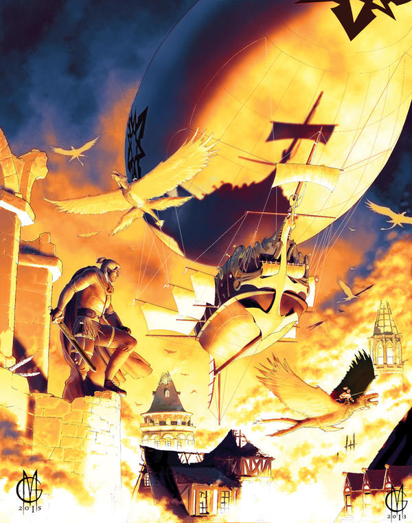 Dragonero Cover #31 by GiuseppeMatteoni