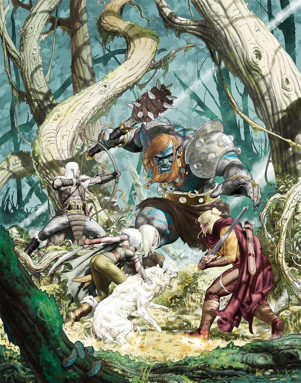 Dragonero Cover #40 by GiuseppeMatteoni