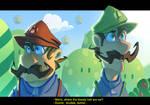 Super Mario: Lost plumbers