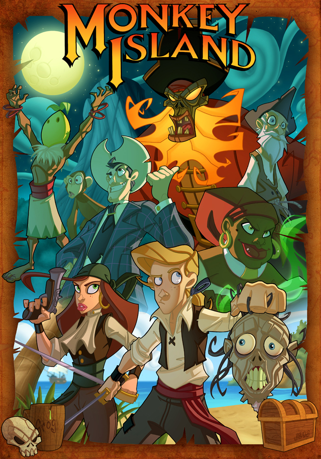 The Secret of Monkey Island by Javas