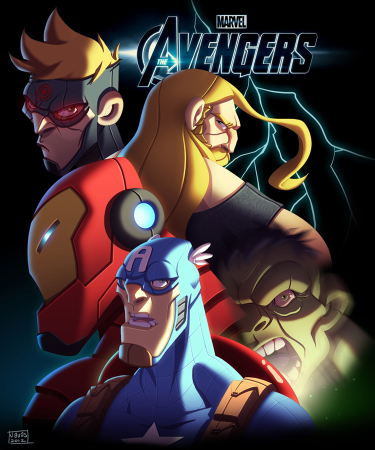 The Avengers by Javas