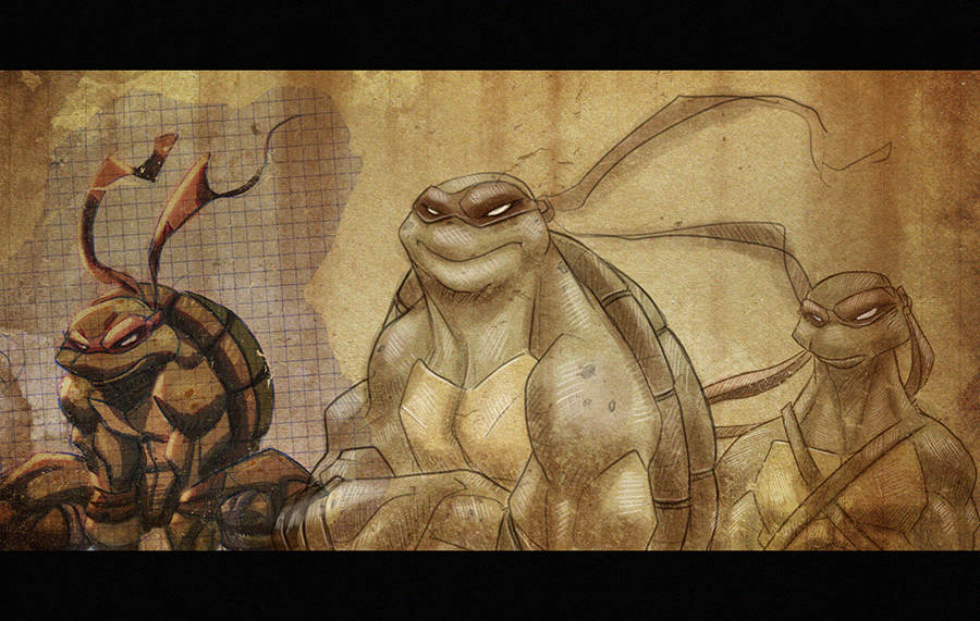 TMNT Sketches by Javas