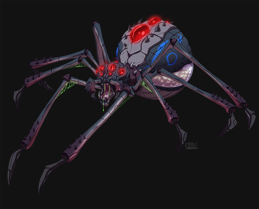 Spider design by Javas