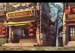 Chinese Downtown BG