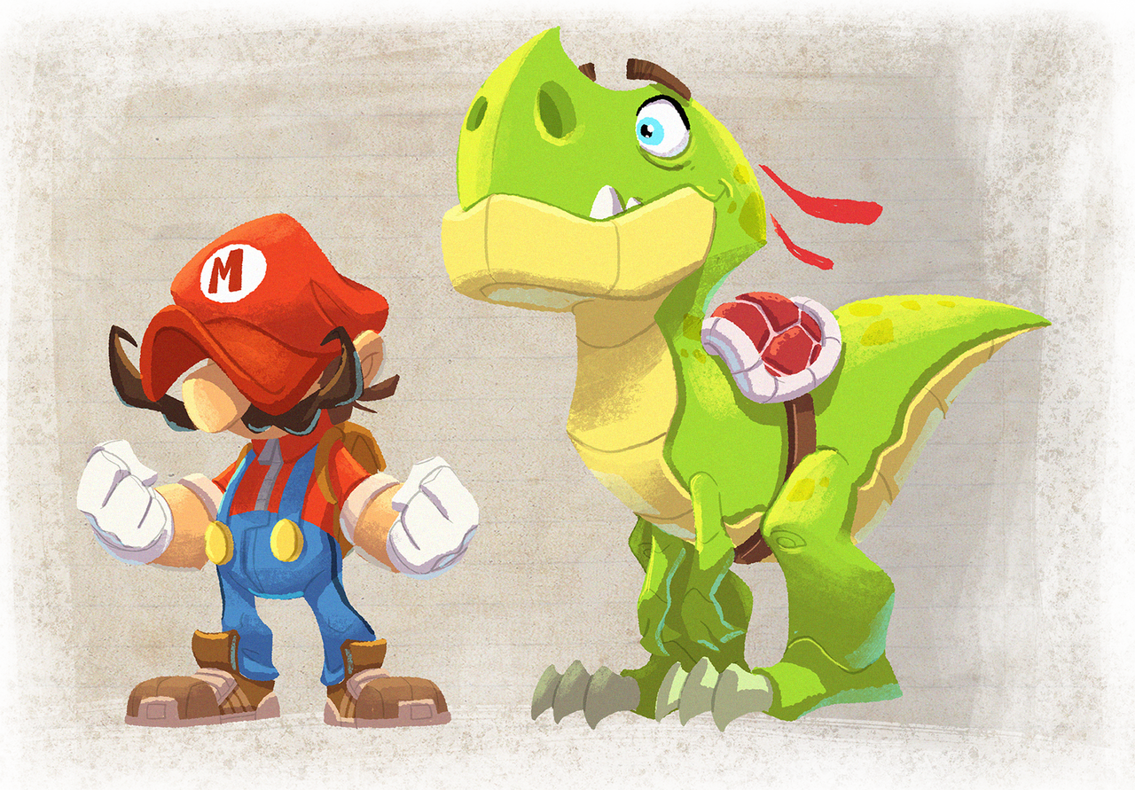 mario and yoshijavas on deviantart