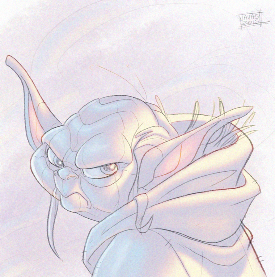 Yoda Sketch by Javas