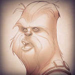Chewbacca sketch