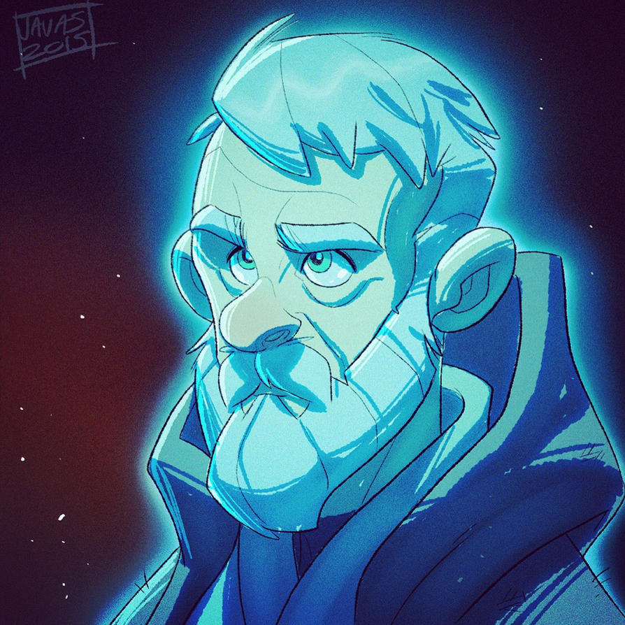 Old Ben Kenobi Skeych by Javas