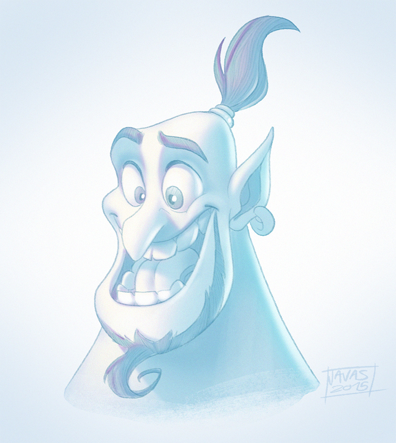 Genie Sketch by Javas