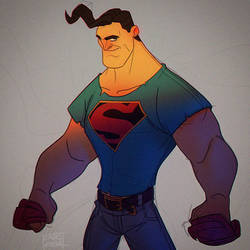 Superman Sketch by Javas