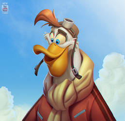 Launchpad McQuack - Ipad Pro and Procreate by Javas