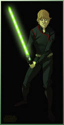 Luke Skywalker Jedi Quickie by Javas