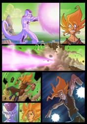 Goku vs Freeza by Javas