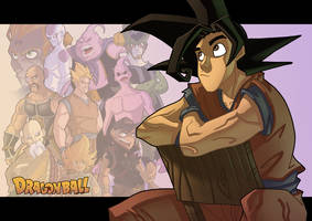 Dragon Ball - Goku by Javas