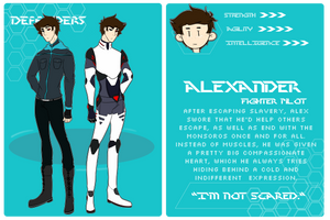 (DF) DEFENDERS: Alexander Mc'Clagen by danielanimales1