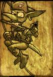 goblin pirate by devillo