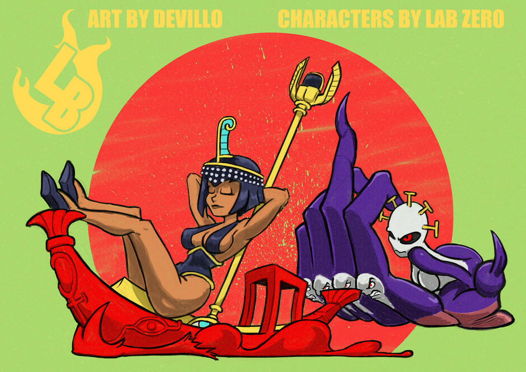 Battle of the Ancients by devillo