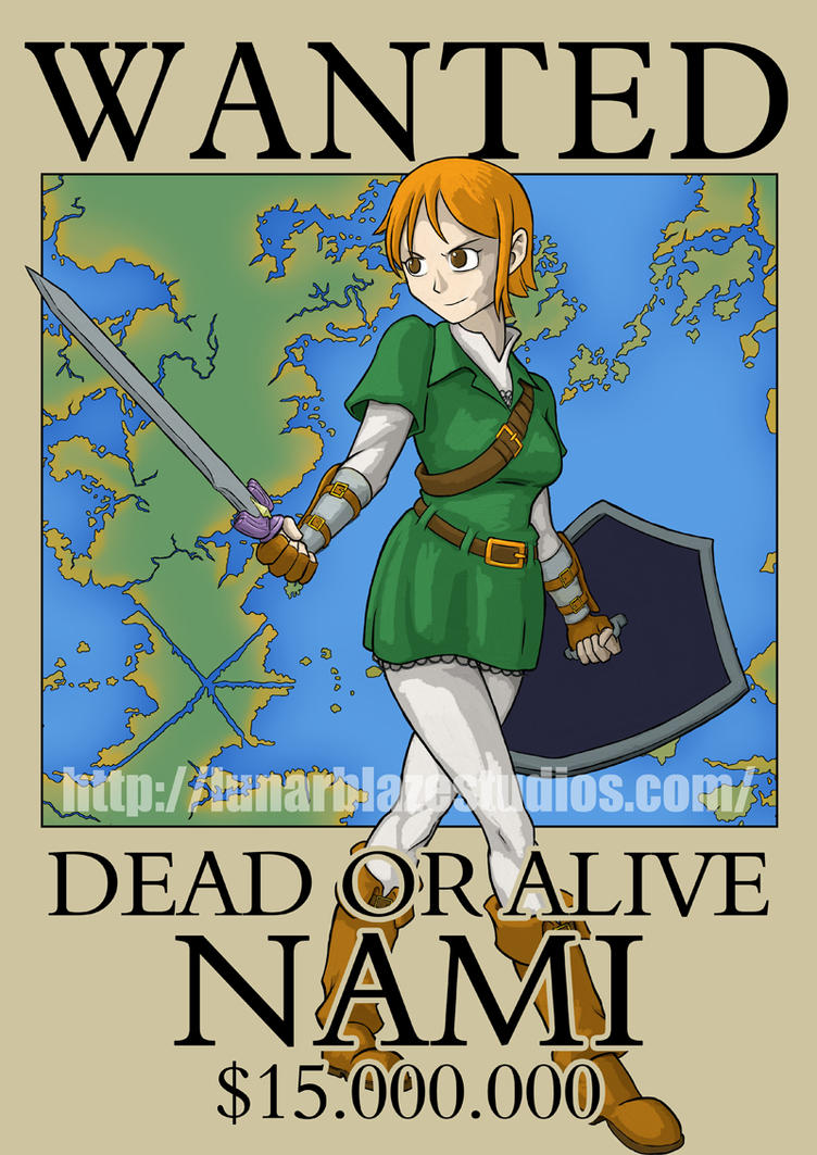 Nami as Link by devillo
