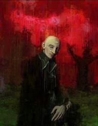 Dracula - graveyard by devillo