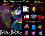 2019 Commission Prices by devillo