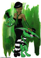 Absinthe Muse by devillo