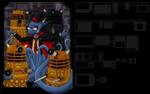 Devillo and the Daleks desktop by devillo
