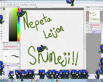 F:Nepeta Leijon Shimeji(DL Link In Desc.)ZIP/RAR
