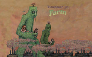 Dinosaur Jr. Farm Wallpaper
