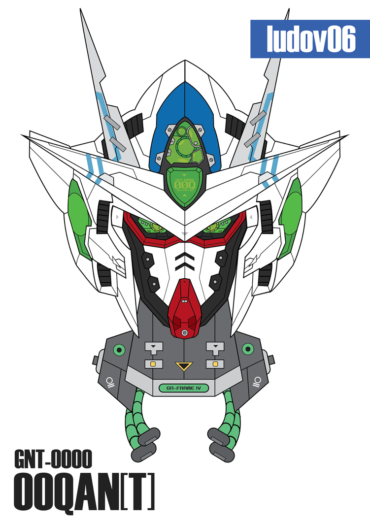 GNT-0000 OOQAN[T] Head Ludov06 Ver. by iludov