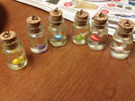 Legend of Zelda Fairy bottle charms